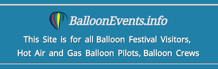 Balloonfestivals worldwide