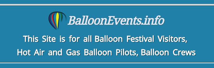Balloonfestivals worldwide