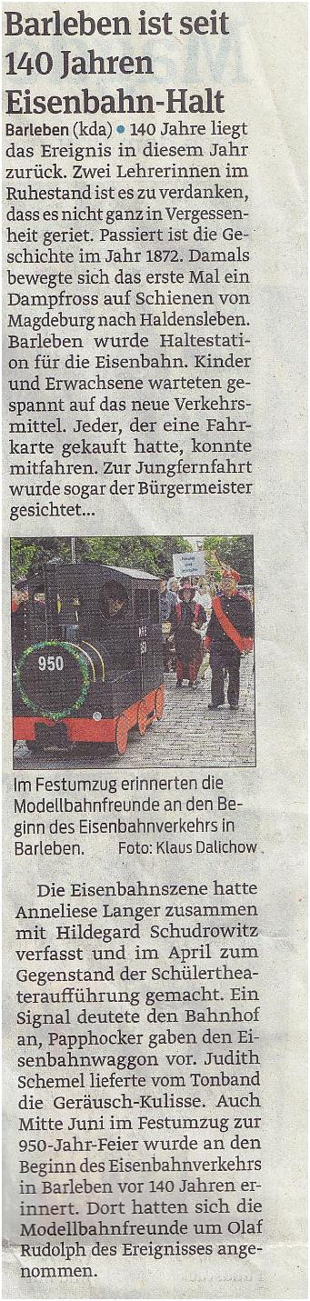 Barleben-Eisenbahn