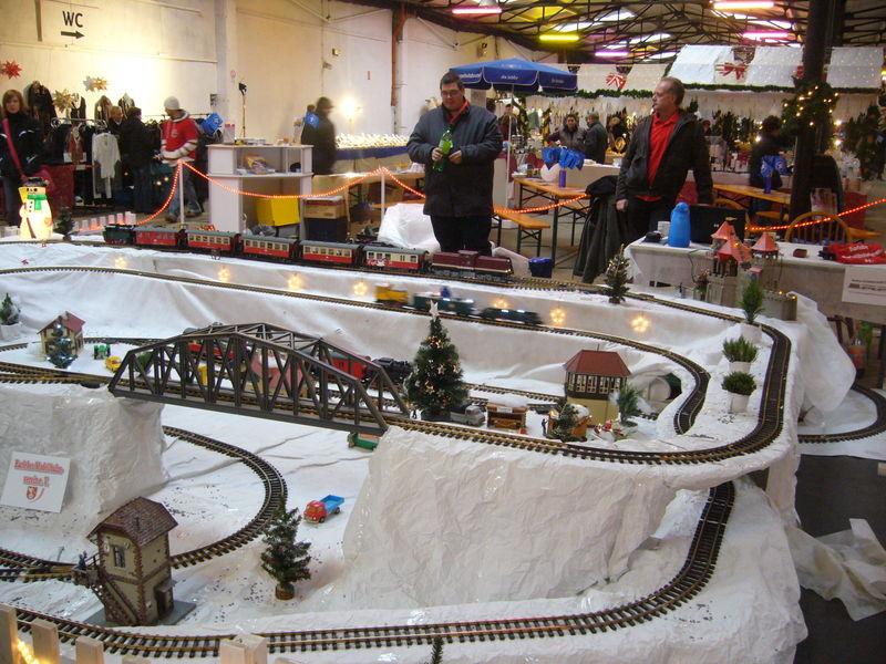 Winteranlage Weihnachtsmarkt Artdepot 2010