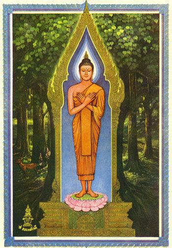 Freitags-Buddha