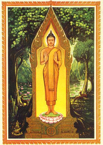 Montags-Buddha