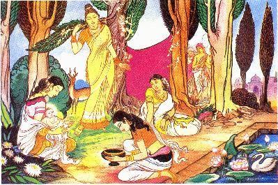 Die Geburt des Bodhisattas