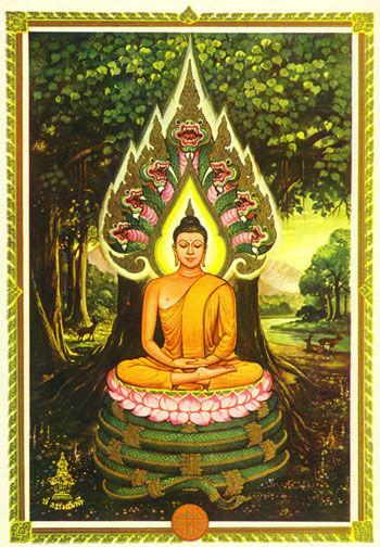 Samstags-Buddha