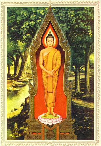 Sonntags-Buddha
