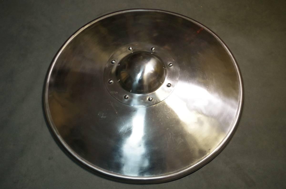 Schaukampfschild Stahlblech