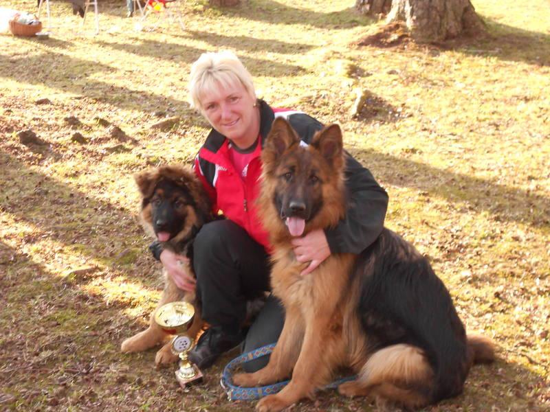 Wendy & Berny bei der Austellung in Traunsee !!!