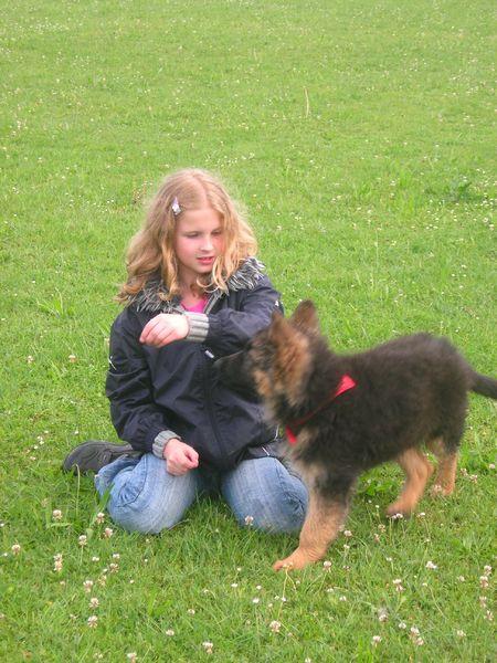 Lisa & Wendy am Hundeplatz!!