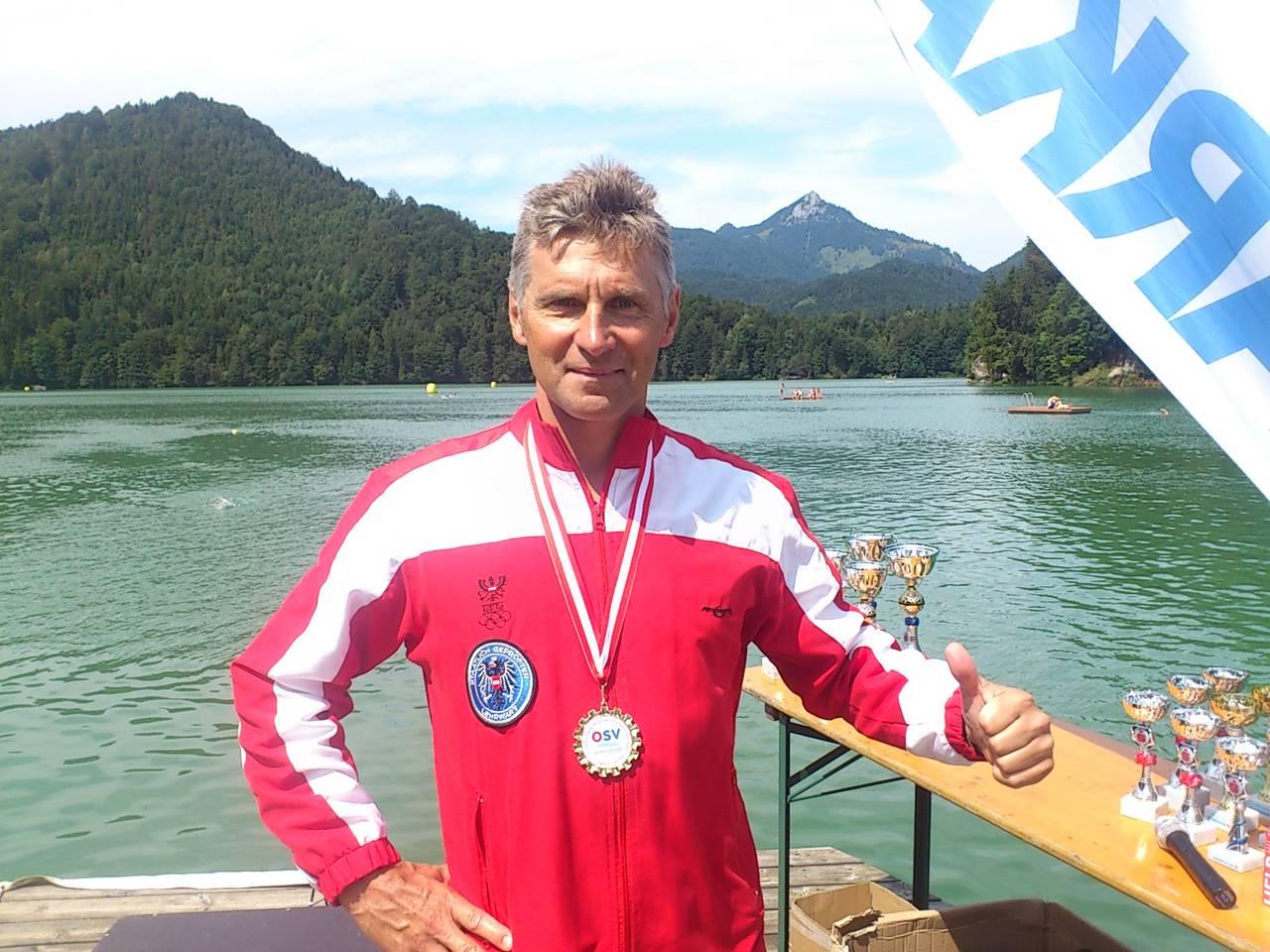 ÖMS Open Water Schwimmen 2014, GOLD