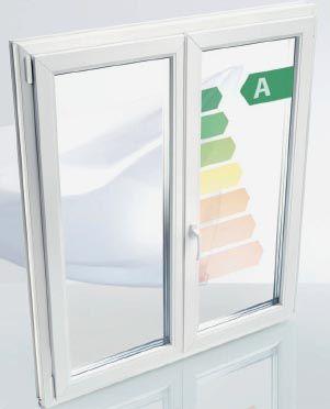 Fenster mit hoher Waermedaemmung und Einbruchshemmend
