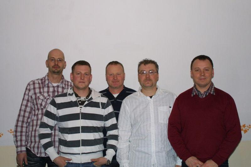 v.l. Daniel, Danny, Jörg, Maik, Guido