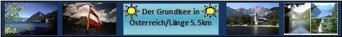 Grundlsee, im Herzen von Österreich!!!