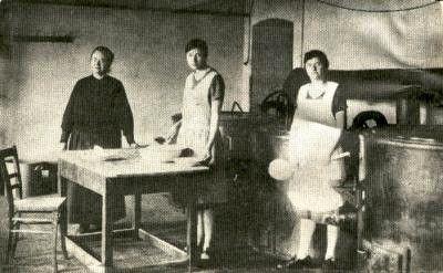 Suppenküche in Horst 1923