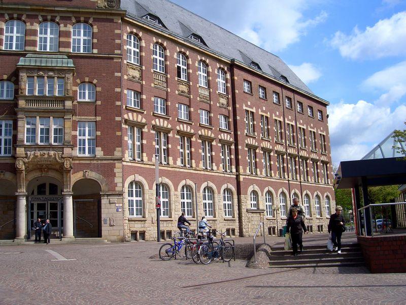 Verwaltungsgericht/früher Hauptpost in Gelsenk.