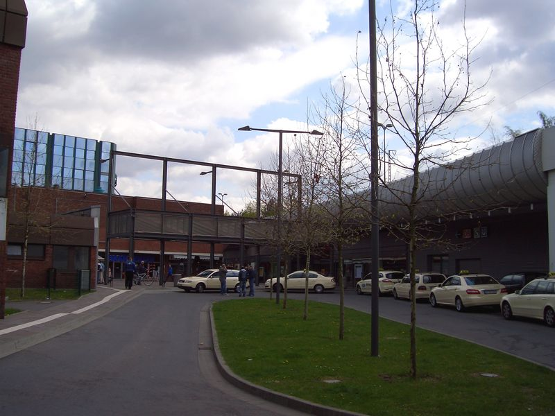 Taxistand am Hauptbahnhof
