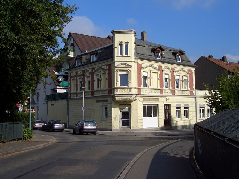 Dieses Haus wurde kurz vor dem 19. Jahrundert gebaut