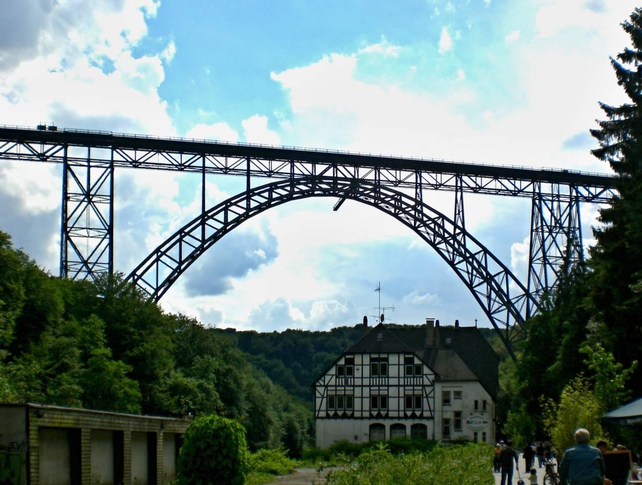 Müngstenerbrücke alt Exit rarität rar selten Picture