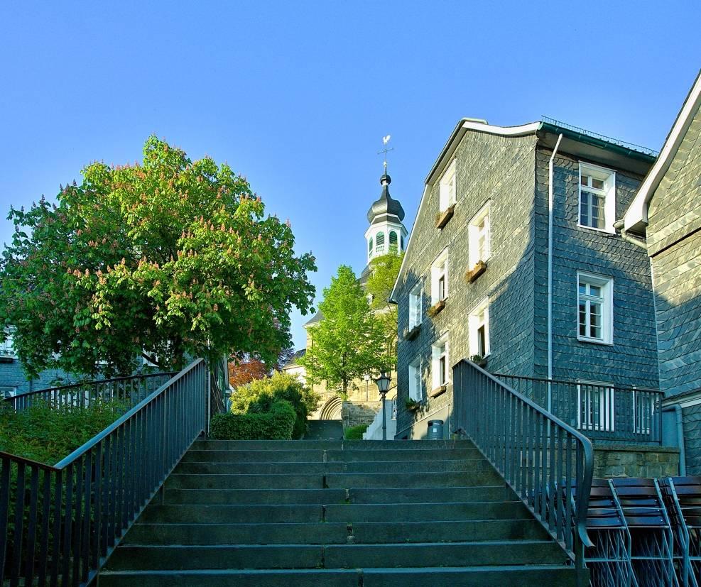 Solingen Gräfrath Klostertreppe