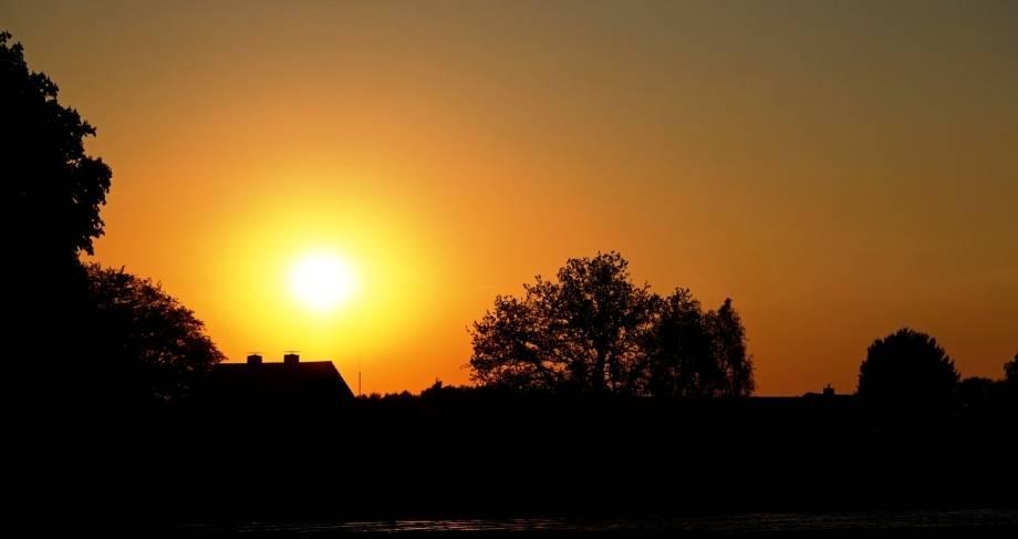 Sunset Solingen NRW Germany