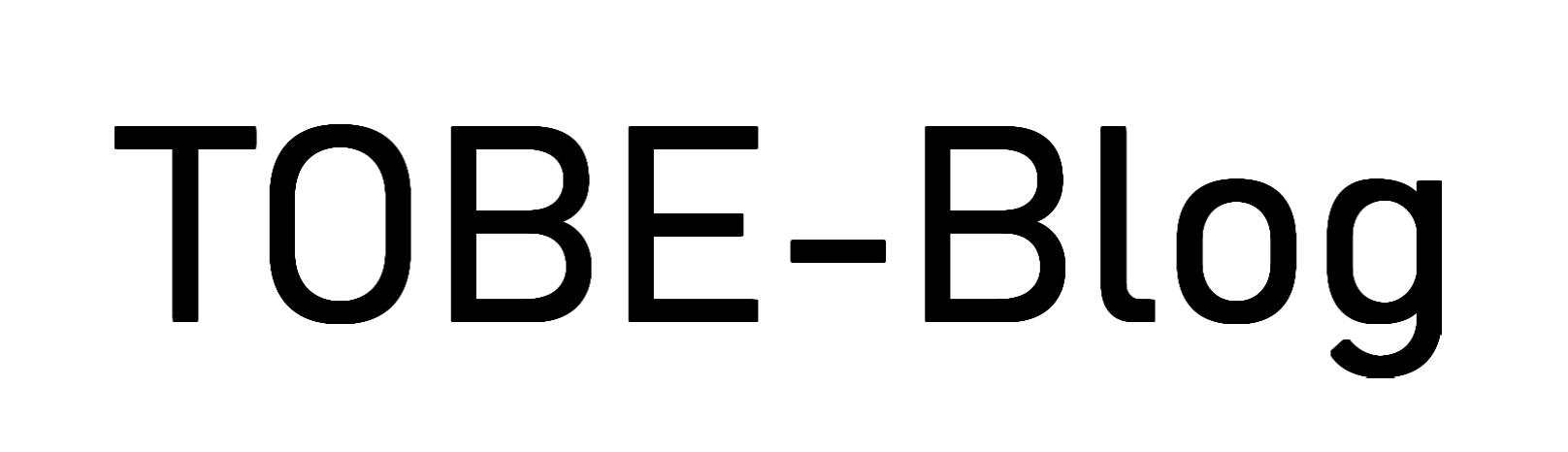 TOBE - Blog