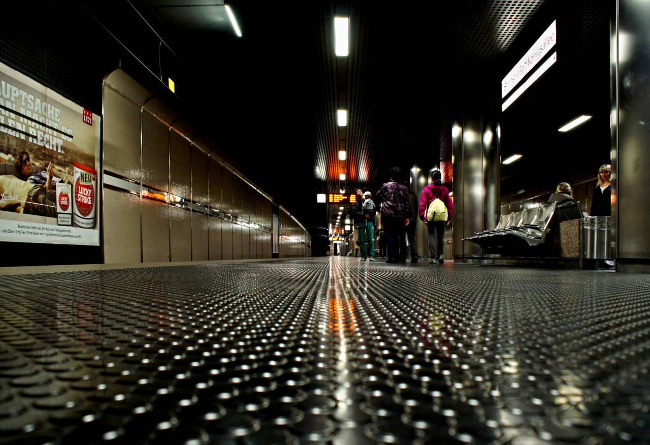 U Bahn Station Düsseldorf Königsallee