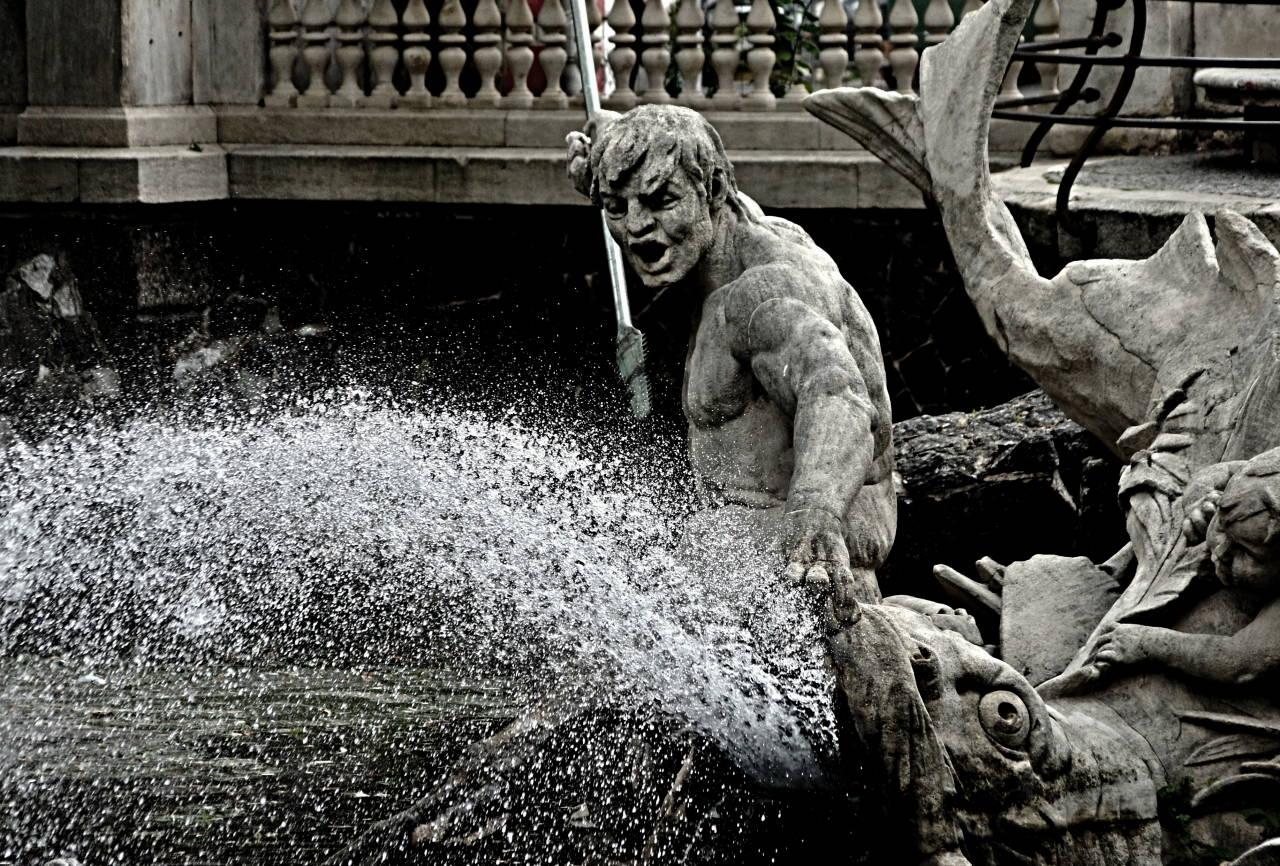 Wasserspiel Neptun