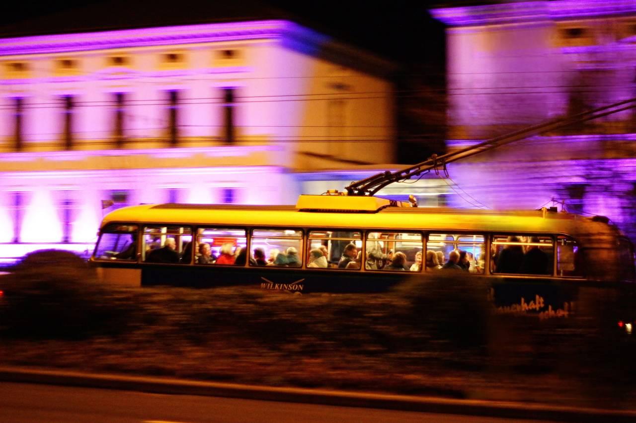 O-Bus Kulturnacht christian villen solingen Strom Power