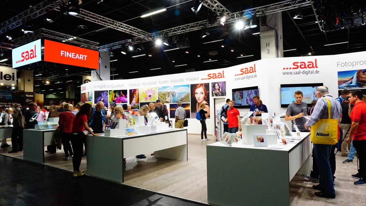 Der Stand von Saal-digital.de 2016 bei der Photokina / #Saal-digital.de #Photokina #nrw #Germany #Messe #Köln #Deutz