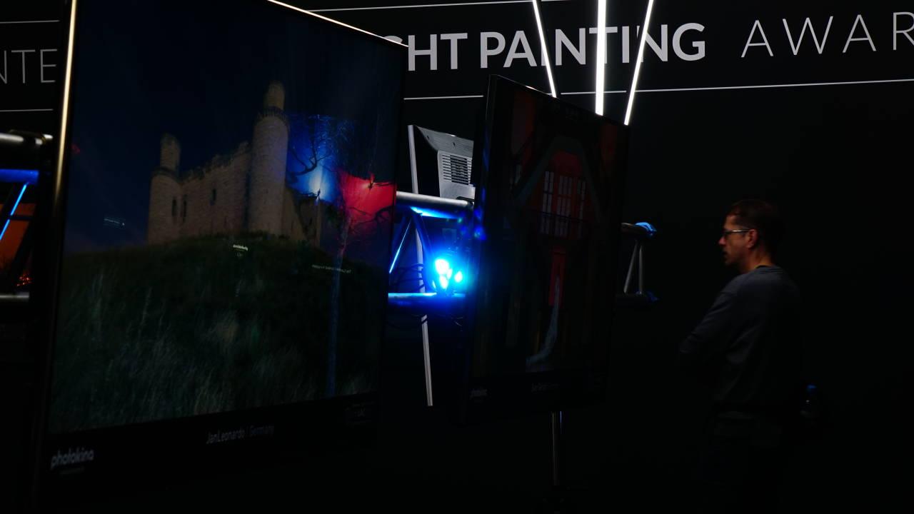 Malen mit Licht - Langzeitbelichtung /   #Photokina #nrw #Germany #Messe #Köln #Deutz #Fotografie
