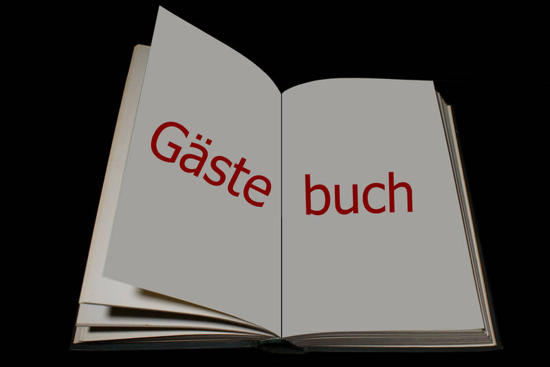 Gästebuch selber erstellt