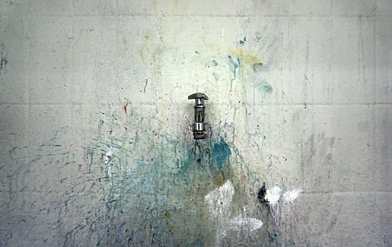 Photokina, 2018, Wasserhahn, Farbe, Farbspritzer, Wasser, Art