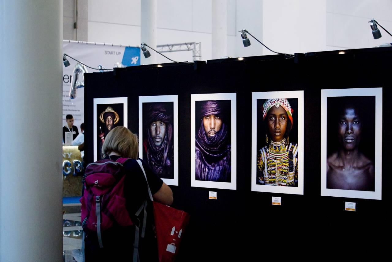 Photokina, 2018, Ausstellung, Art, betrachten