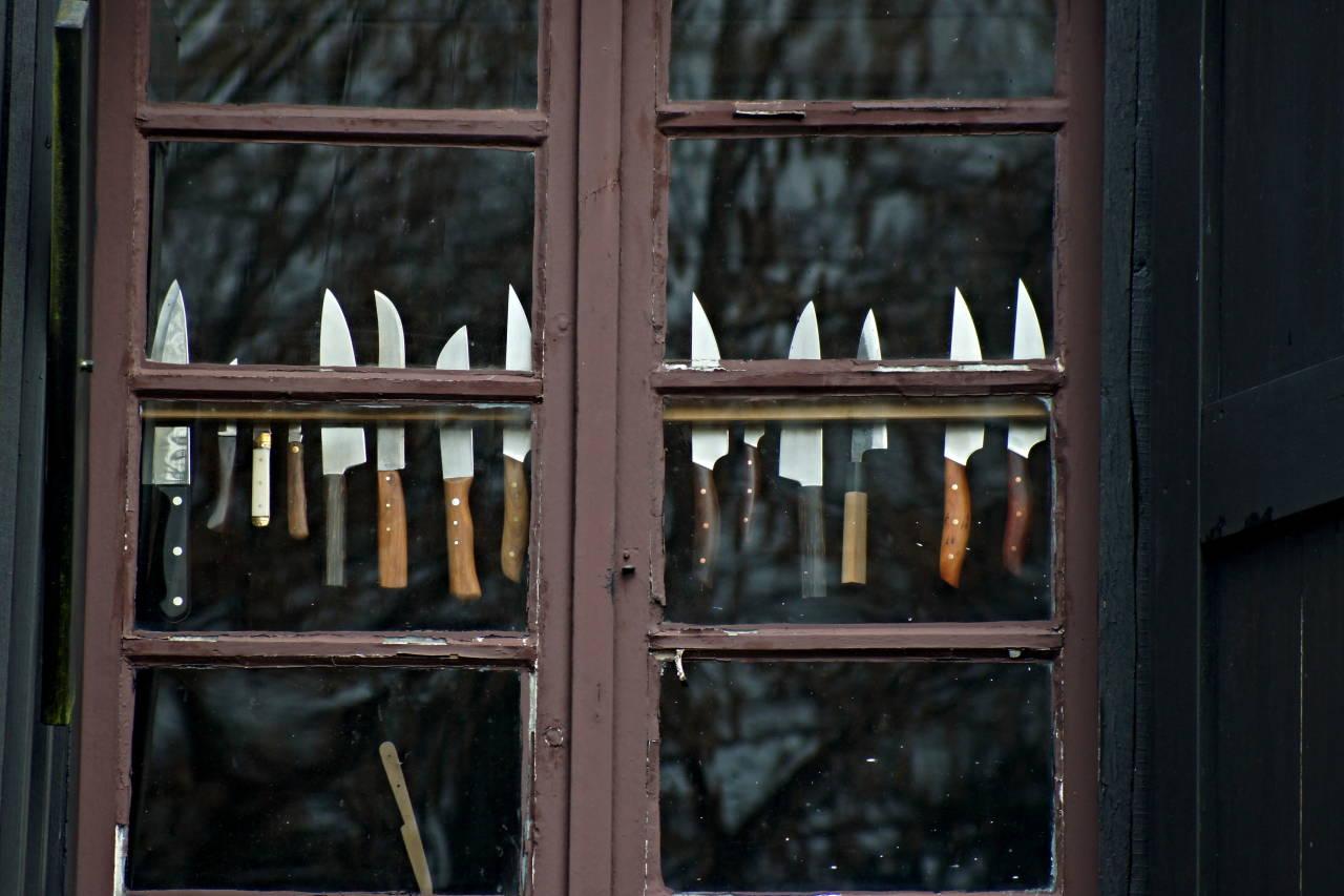 Wiesenkotten alt Solingen Germany NRW Messer Klingen schärfen