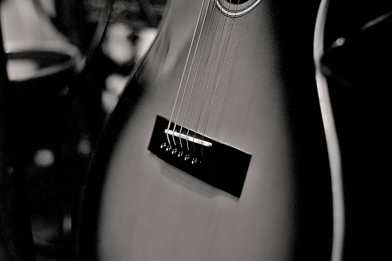 Teilansicht Gitarre