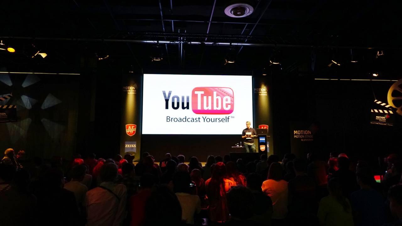 Interessante Statistiken und was man besser machen kann, YouTuber unter sich / Photokina 2016 Köln Messe Deutz YouTube