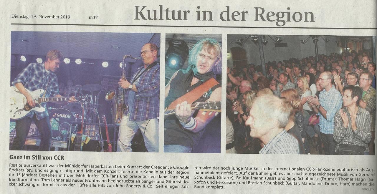 Artikel aus'm Mühldorfer Anzeiger