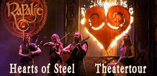 Rapalje - Hearts of Steel