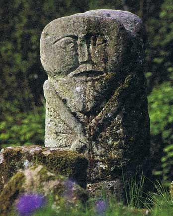 Janus-Stein auf Boa Island