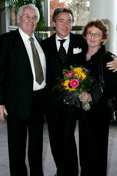 Michael Flatley mit Eltern