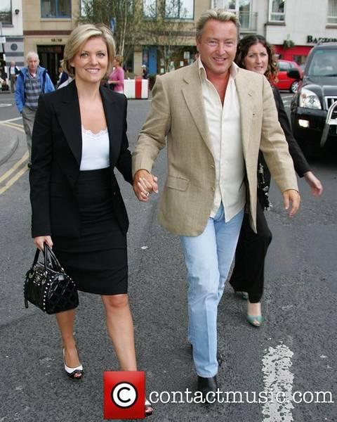 Michel Flatley mit Frau