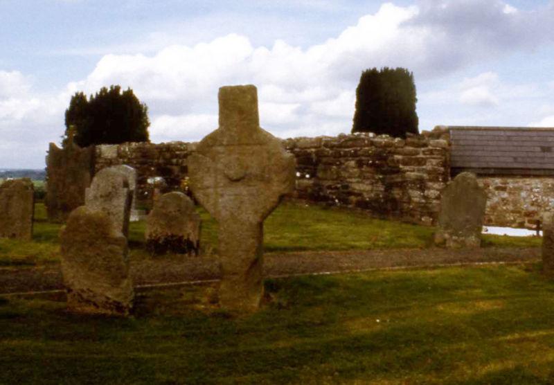 Protoform eines keltischen Kreuzes
