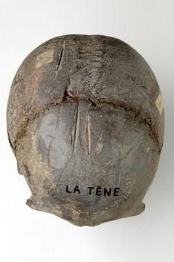 Schädelfundstück - La Tene