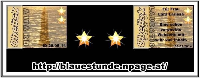 Award - Blaue Stunde