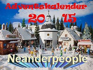 Adventskalender 2015 - erster Einblick