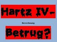 Hartz IV- Berechnung Betrug?