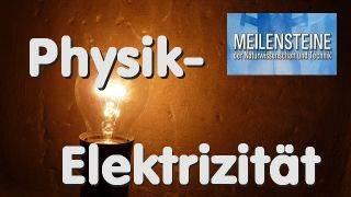 Meilensteine der Physik: Elektrizität