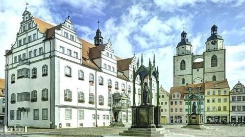 Lutherstädte Wittenberg und Eisleben