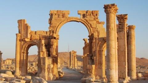 Syrien - Die Ruinen von Palmyra