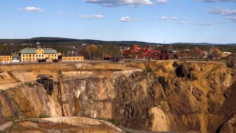 Schweden - Kupfermine Falun