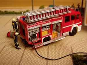 5 Überflurhydranten 1:87 Feuerwehr-Bausatz